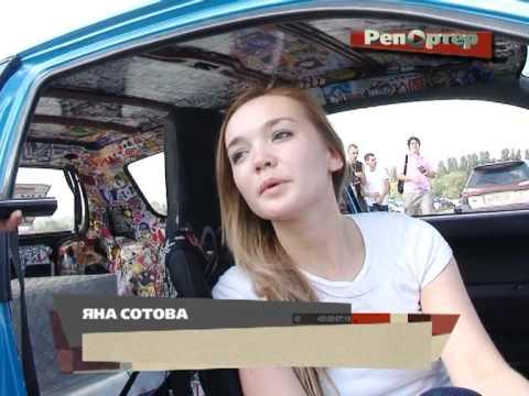 На автофестивале «Хонда» самарской гонщицы едва не сгорела прямо во время гонки (видео)