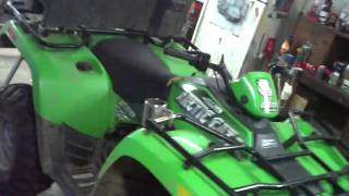 3. 2005 Arctic cat v2 650 atv for sale on ebay...ticking