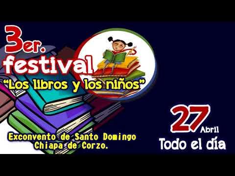 """3er. festival """"Los libros y los niños"""""""