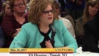 Tomah (WI) United States  city images : VA Hearing, Tomah, Wisconsin