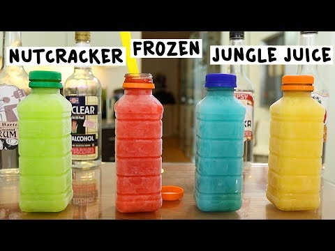 Nutcracker Frozen Jungle Juices