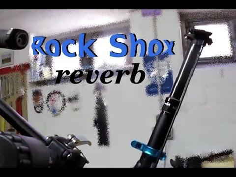 Montage einer absenkbaren Sattelstütze von Rock Shox reverb