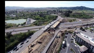 Southstar - Aerial time lapse of bridge construction
