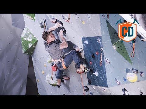 Magnus Midtbø Crushing An 8c Indoor Climb | Climbing Daily Ep.1027 (видео)