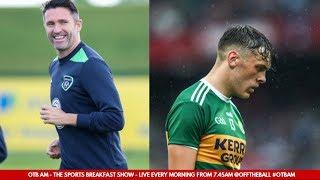 The Sports Pages: Clifford injury, Pallister slams Lukaku, Robbie Keane for Ireland?   #OTBAM