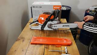 1. UNBOXING Chainsaw Stihl MS 391