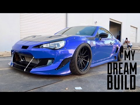 BRZ IS COMPLETE! Bagged, Widebody, & Boosted!!!