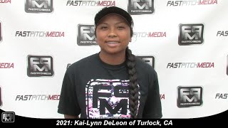 Committed to SF State - 2021 Kai-Lynn DeLeon Slapper, Shortstop Softball Skills Video - Firecrackers