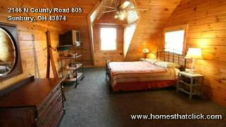 Sunbury (OH) United States  city photos gallery : Sunbury Ohio Log Home- Big Walnut schools- 5 acres