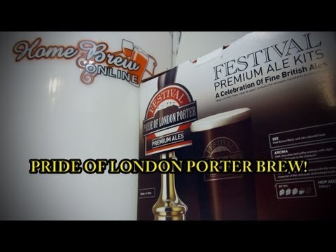 Easy home brewing – Pride of London Porter!