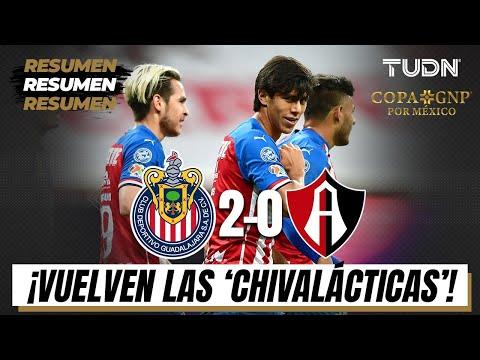 Resumen y goles | Chivas 2-0 Atlas | Copa GNP por México | TUDN