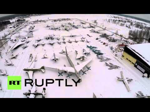 Cool Drone Footage Of Russia's Air Force Museum Is Heaven For Planes