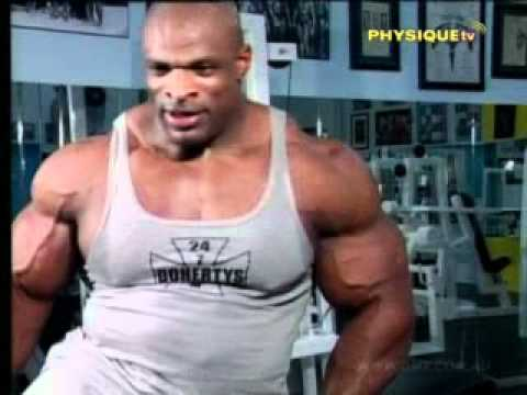 Ronnie Coleman – How To Burn Fat & Build Your Body