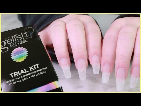 Gel nails - Trying polygel feom Gelish + dip nails update