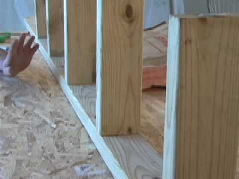 Frame - Bob Schmidt shows you how and why to lay-out a wall during construction to a standard 16 inch on center lay-out. When laying out a top and bottom plate for a...