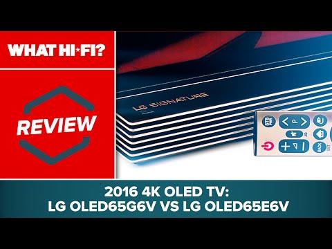 2016 4K OLED TV review: LG OLED65G6V vs LG OLED65E6V
