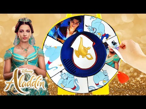 Find the Genie Spinning Wheel Game Disney Aladdin 2019