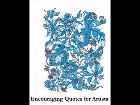 Encouraging Quotes for Artists