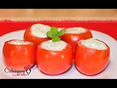 Tomatoes filled with Cream Cheese Recipe