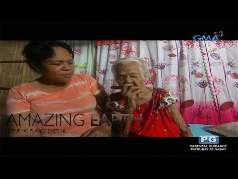 Amazing Earth: Meet the oldest living Filipina in the country, 'Lola Isca'