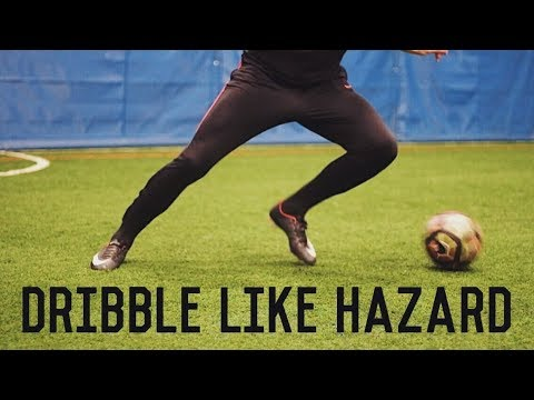 How To Dribble Like Eden Hazard | 5 Easy Dribbling Moves Tutorial