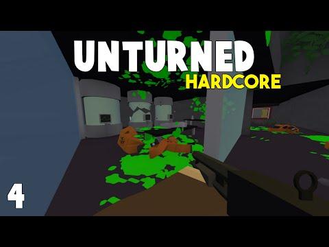 Unturned Hardcore Survival | Exploring The Secret Bunker | Part 4