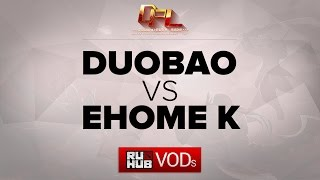EHOME.K vs DUOBAO, game 1