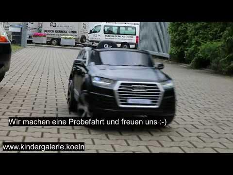 Montageanleitung Audi Q7 12V Kinder Elektrauto Kiga Köln GmbH