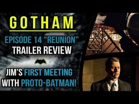 Jim Gordon's FIRST Meeting with Proto-Batman?! - Gotham 4x14 Trailer Reaction & Review -