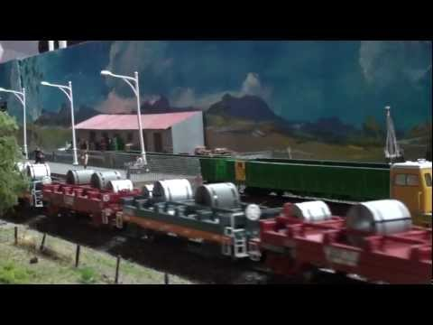Australian Model Railway Videos 2012 – Freight Trains
