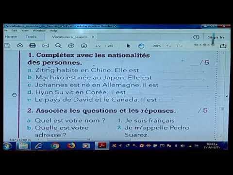 لغات العالم تعلم اللغة الفرنسية أ خالد خبير  04-08-2019