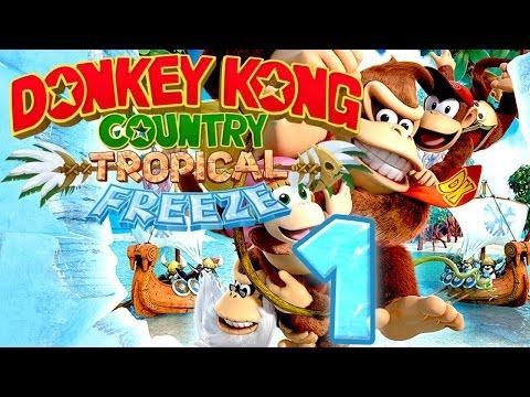 donkey kong country wii u youtube