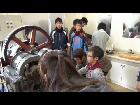 種子島の学校:安納小学校さとうすめ黒糖づくり体験