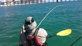 Panama City Fishing Buffet - Hmong Fishing on a Kayak