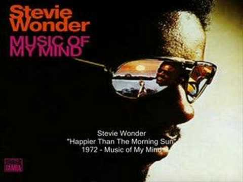 Tekst piosenki Stevie Wonder - Happier Than the Morning Sun po polsku
