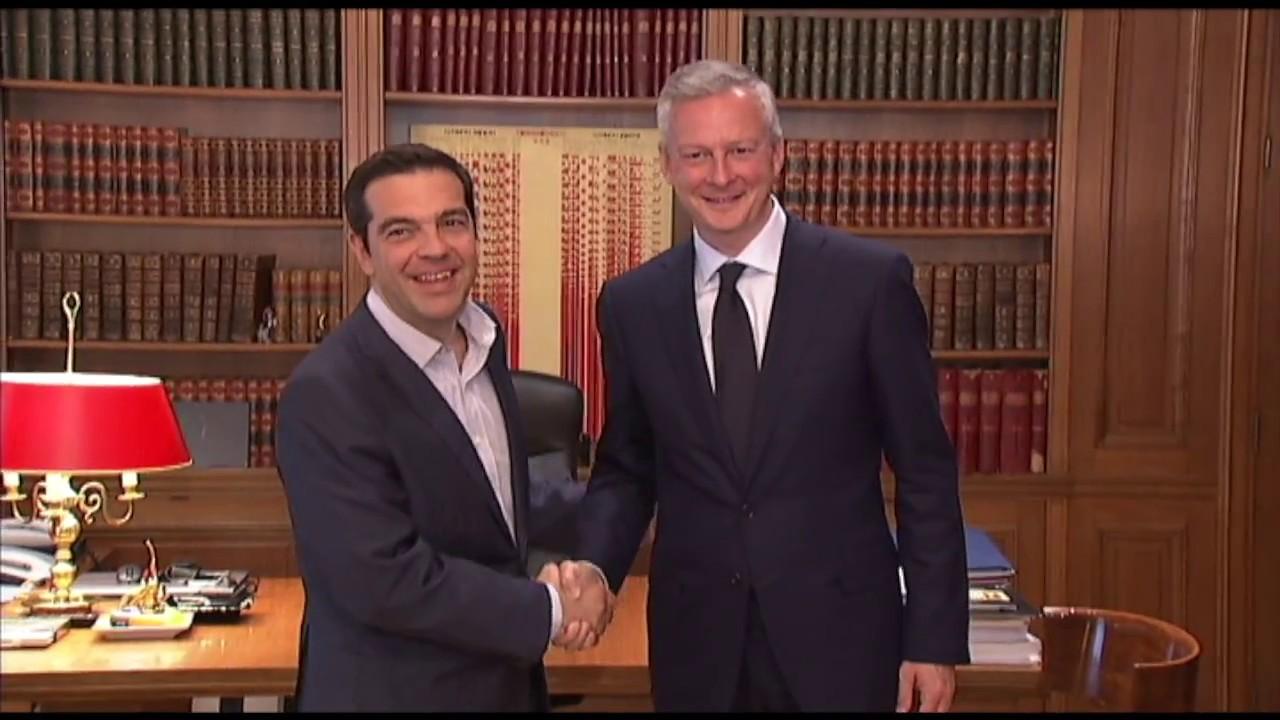 Συνάντηση με τον Υπουργό Οικονομίας και Οικονομικών της Γαλλίας κ. Μπρουνό Λε Μερ.