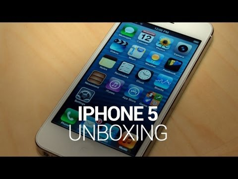 iphone 5 unboxing - iPhone 5 Unboxing! Not everyone was happy with Apple's seemingly lackadaisical approach to last year's iPhone 4S. Sure, the device sold in the millions, but ...