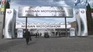 Mobile Hallen von De Boer für den Nissanstand auf dem Barcelona Motorshow Salon.mp4