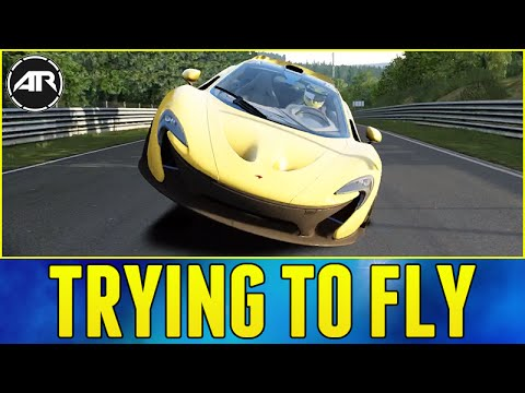 TRYING TO FLY!!! – Assetto Corsa (Xbox One Gameplay)