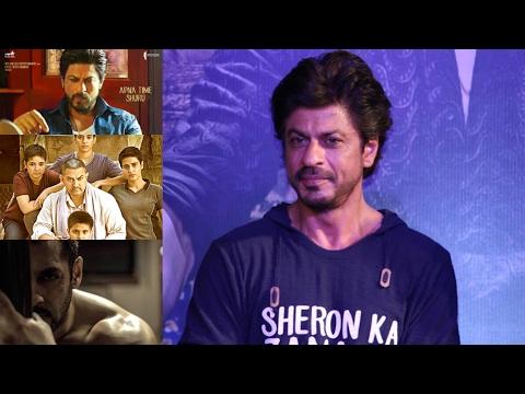 Shah Rukh Khan Talks Raees vs Dangal & Sultan