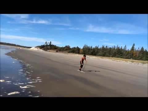 Sand Skiing Intervals