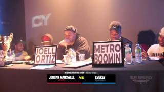 Video Battle of the Beat Makers 2014 - Part 6 (Metro Boomin, Sonny Digital & Joell Ortiz) MP3, 3GP, MP4, WEBM, AVI, FLV Maret 2019