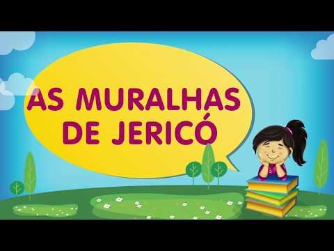 As muralhas de Jericó  | Cantinho da Criança com a Tia Érika
