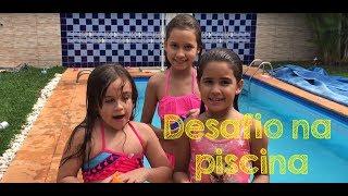 Video Desafio na piscina! MP3, 3GP, MP4, WEBM, AVI, FLV Desember 2018