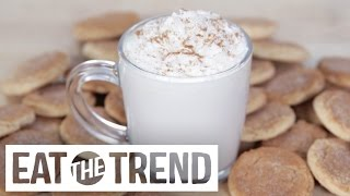 DIY Starbucks Snickerdoodle Hot Cocoa | Eat the Trend by POPSUGAR Food
