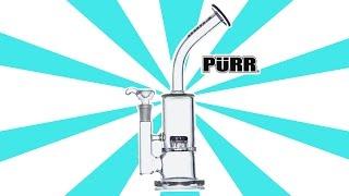 Purr Glass Bent Neck Nano Matrix - (Glass Review) by Strain Central
