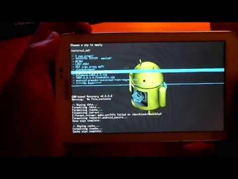 Как Зайти В Recovery На Android-Планшетах