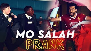 Video Mo Salah bursts through wall to surprise kids | KOP KIDS PRANK MP3, 3GP, MP4, WEBM, AVI, FLV April 2019