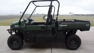 7. $12,999:  2016 Kawasaki  Mule Pro FX EPS Timberline Green Overview and Review