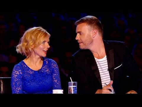 TheXFactorUK - Visit the official site: http://itv.com/xfactor And in the blue corner... Put two pop heavyweights in a room together and sparks will undoubtedly fly. Fortun...